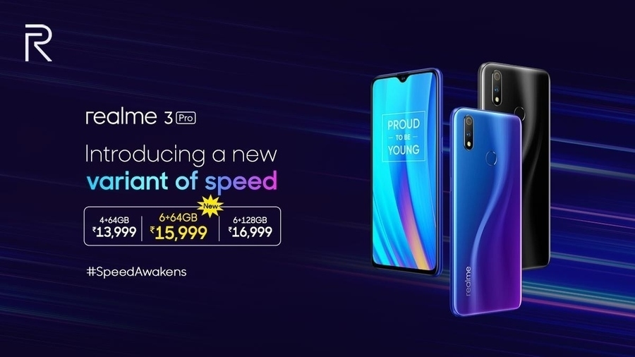 Realme 3 Pro version launched