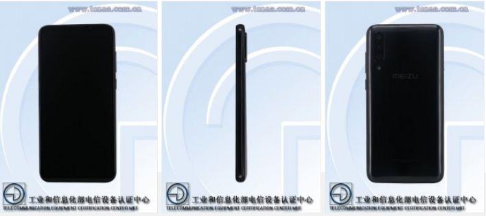 Meizu 16Xs image leaks at TENAA