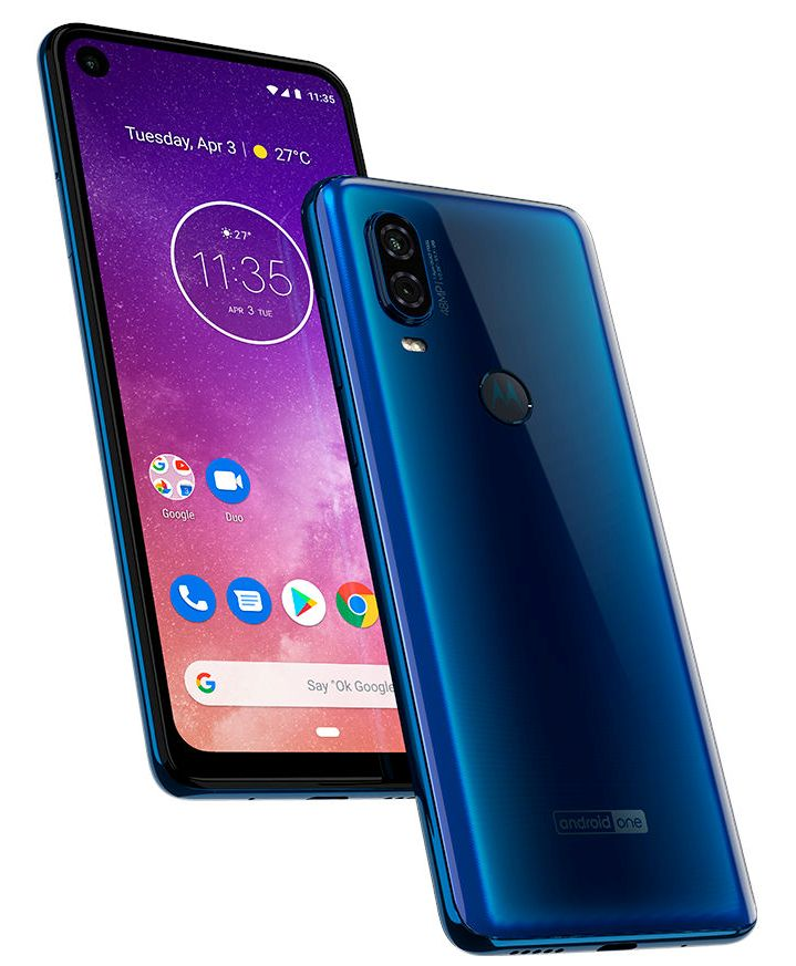 Motorola One Vision announced