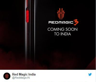 Nubia Red Magic 3 tweet posted