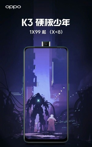 Oppo K3 leaks in poster