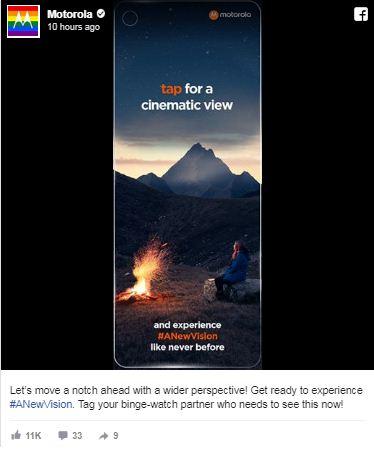 Motorola One Vision teaser 1 leaks