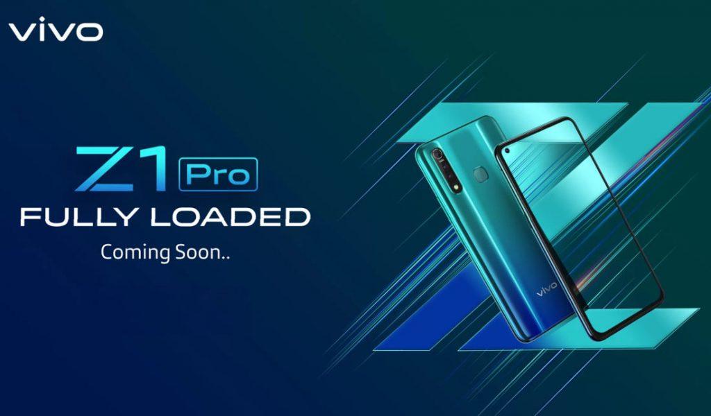 Vivo Z1 Pro teaser leaks