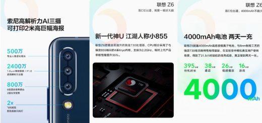 Lenovo Z6 image reveals
