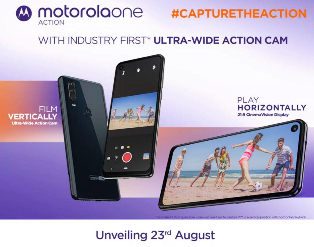 Motorola One Action invite released