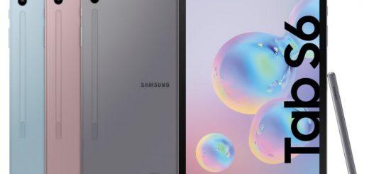 Samsung Galaxy Tab S6 announced