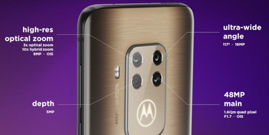 Motorola One Zoom cameras details