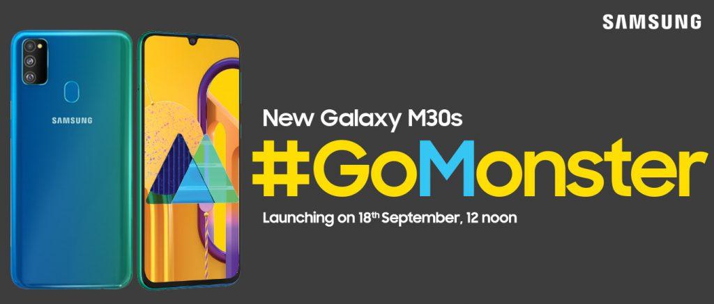 Samsung Galaxy M30s invite sent