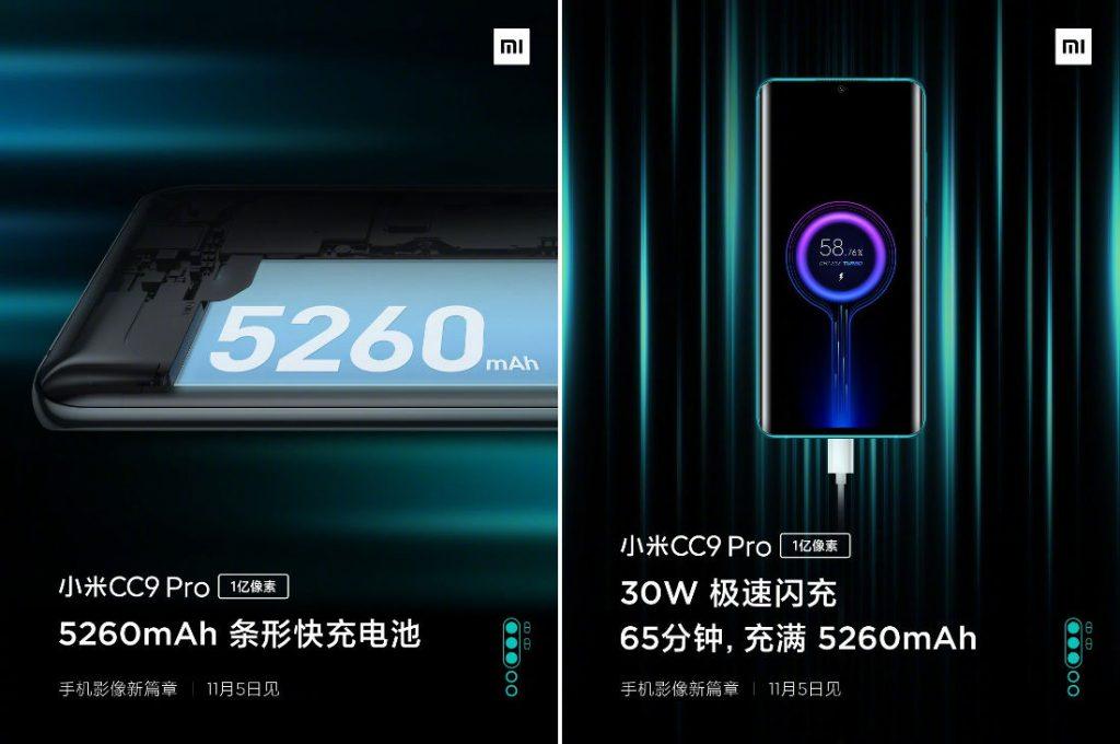 Xiaomi Mi-CC9-Pro-Battery teaser leaks