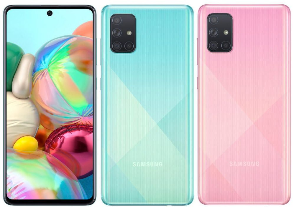 Samsung Galaxy A71 announced
