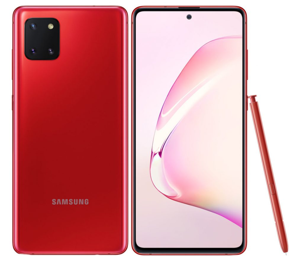 Samsung Galaxy Note 10 Lite willl be available