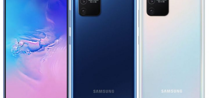 Samsung Galaxy S10 Lite launched