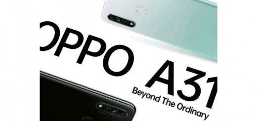 Oppo A31 Teaser leaks