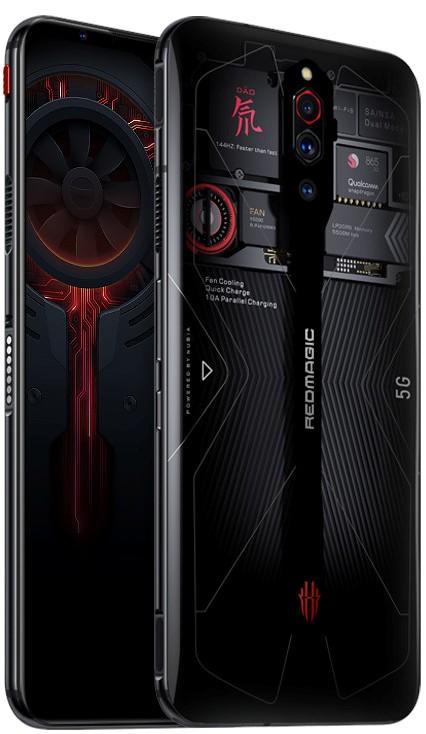 Nubia Red Magic 5G Transparent Edition announced