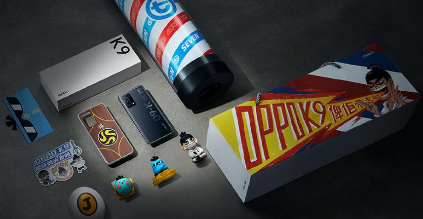 Oppo K9 Wu Liuqi Edition announced